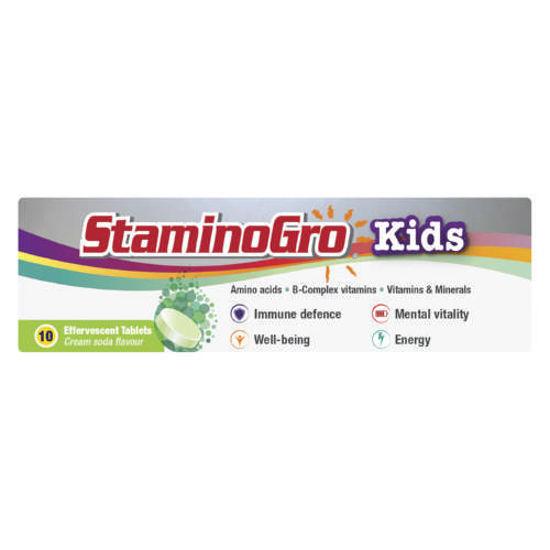 Picture of Staminogro Kids Fizzy  Cream-Soda 10's