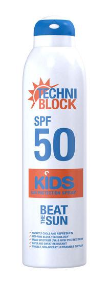 Picture of Techniblock SPF50 Sun Protection Kids Spray 300ml