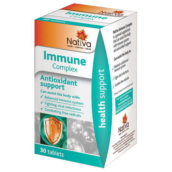 Picture of Nativa Immune Complex Tablets 30's