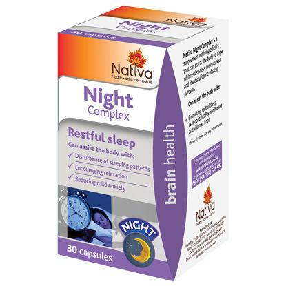 Picture of Nativa Night Complex Capsules  30's