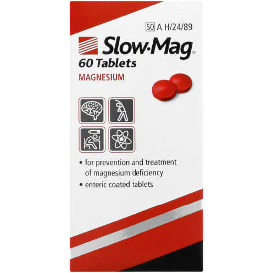 Picture of Slow Mag 535mg Enteric Coated Tablets  60's