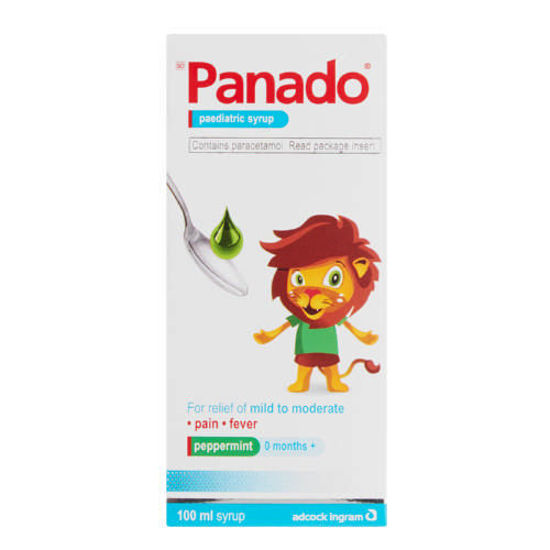 Picture of Panado Paediatric Syrup 120mg/5ml 100ml