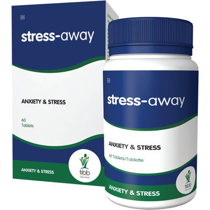 Picture of Tibb Stress-Away  Tablets 60's