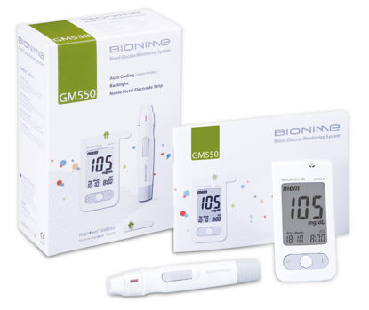 Picture of Bionime Blood Glucose Monitoring Kit GM550