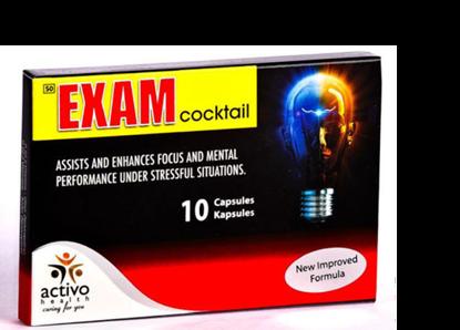 Picture of Exam Cocktail Capsules 10's