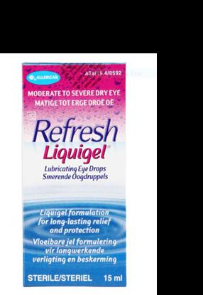 Picture of Refresh Liquigel Lubricating Eye Drops 15ml