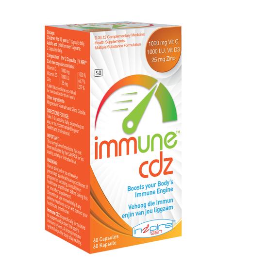Picture of Gen Immune CDZ Capsules 60's
