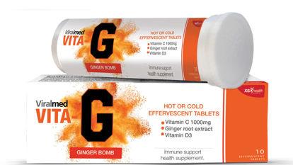 Picture of Viralmed Vita G Effervescent Tablets 10's