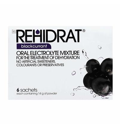 Picture of Rehidrat Blackcurrant Sachets  6's