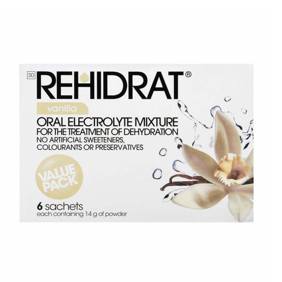 Picture of Rehidrat Vanilla  Sachets 6's