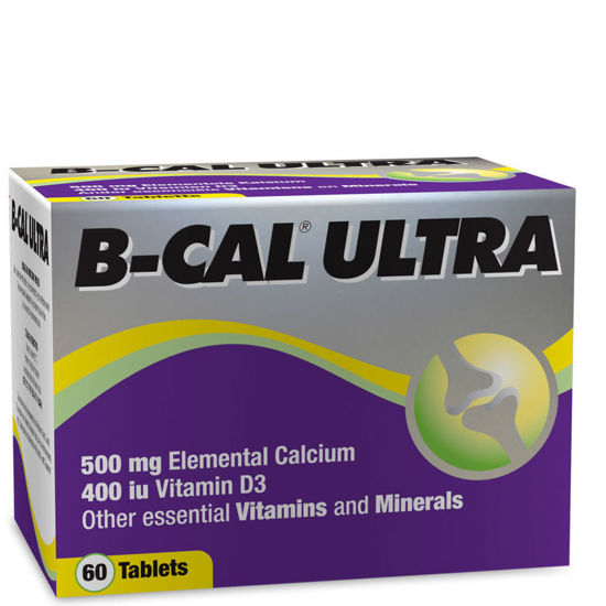 Picture of B-Cal Ultra Tablets 60's