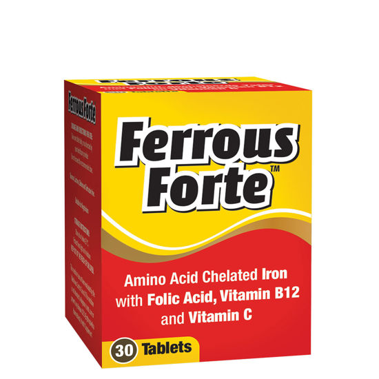 Picture of Ferrous Forte Tablet 30's