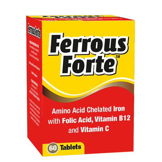Picture of Ferrous Forte Tablet 60's