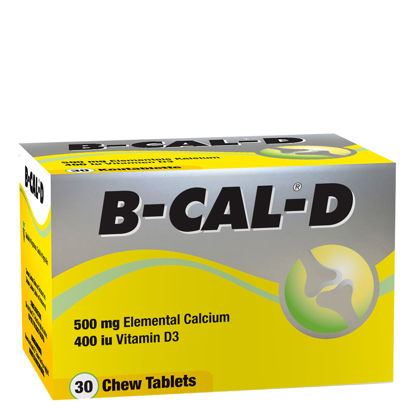 Picture of B-Cal-D Chewable Tablets 30's