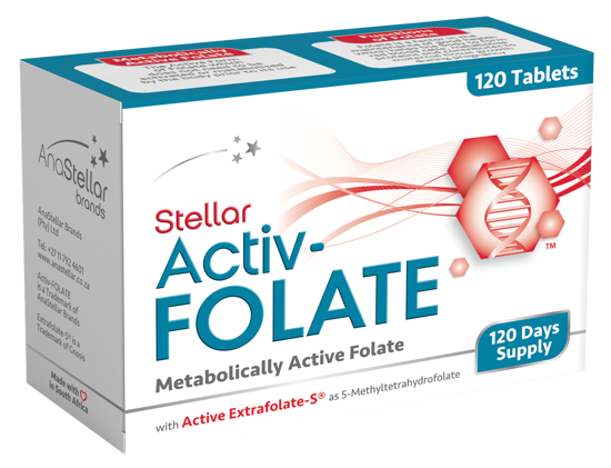Picture of Stellar Activ-Folate 120 Day Pack
