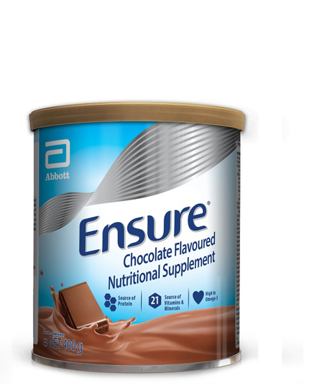 Picture of Ensure Chocolate Nutrition Powder 400g