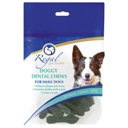 Picture of Regal Doggy Dental Chews Small 80g