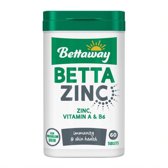 Picture of Bettaway Betta Zinc 60 Tablets