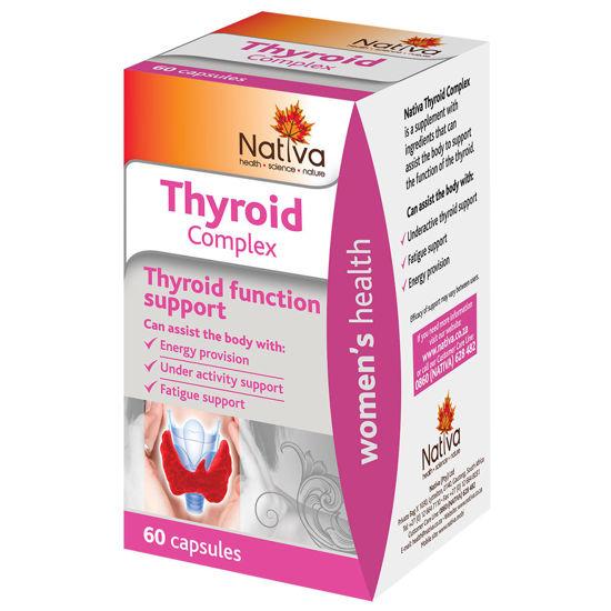 Picture of Nativa Thyroid Complex Capsules 60's