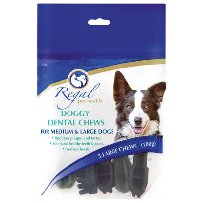Picture of Regal Doggy Dental Chews Large 250g