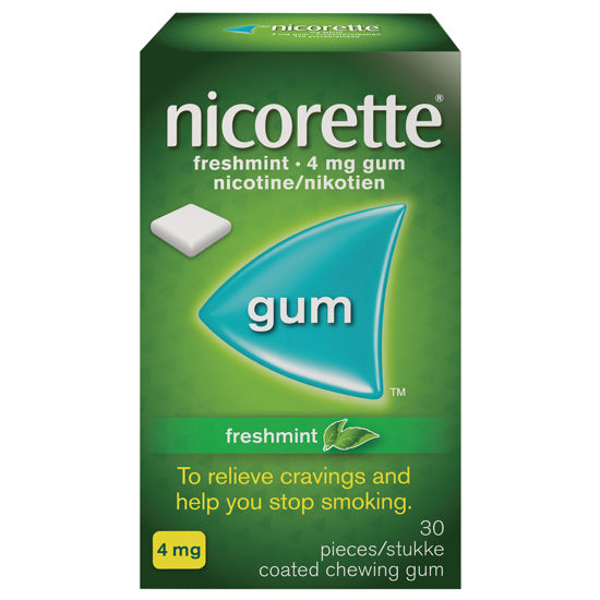 Picture of Nicorette Freshmint Coated Gum 4mg - 30 pieces