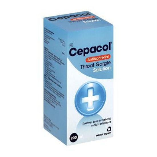 Picture of Cepacol Antibacterial Throat Gargle 200ml