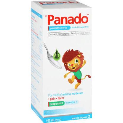 Picture of Panado Paediatric Syrup Alcohol & Sugar Free 100ml