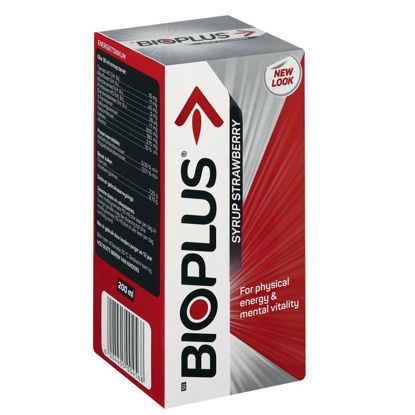 Picture of Bioplus Strawberry Syrup 200ml