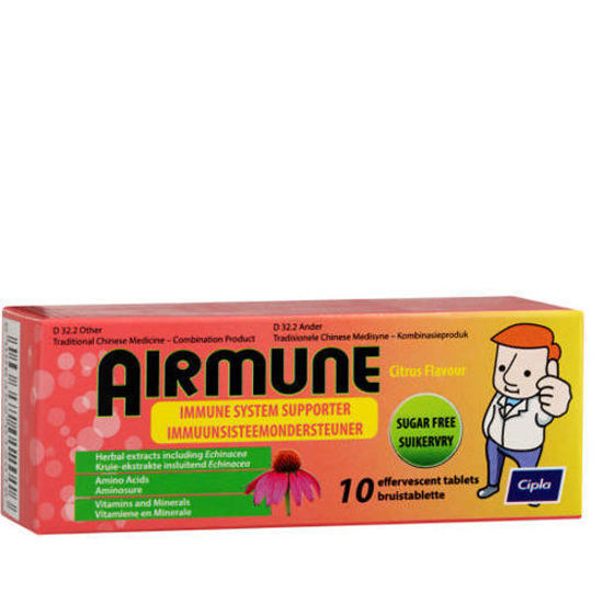 Picture of Airmune Effervescent Tablets  10's