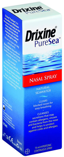 Picture of Drixine Pure Sea Hypertonic Nasal Spray 75ml