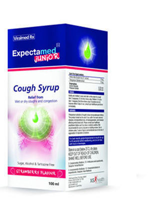 Picture of Expectamed Junior Cough Syrup 100ml