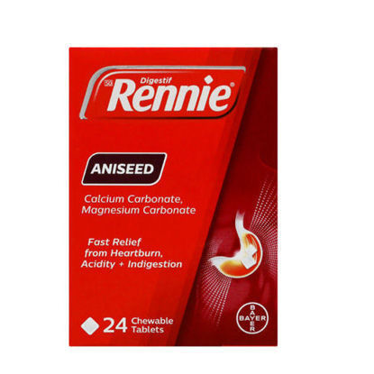 Picture of Rennie Aniseed Chewable Tablets 24's